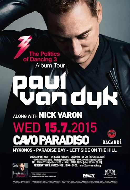 Paul van Dyk at Cavo Paradiso