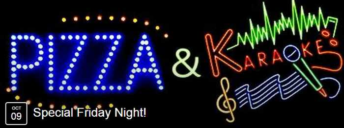 Pizza & Karaoke night at Narghile Bar Mykonos
