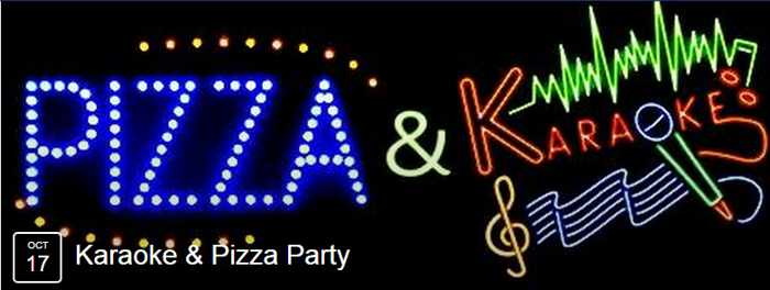 Pizza & Karaoke party at Narghile Bar Mykonos
