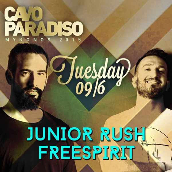 Promotional image for Cavo Paradiso Mykonos June 6 2015 event