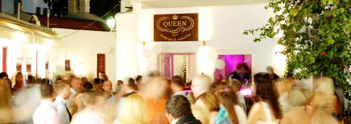 Queen of Mykonos Champagne & Cocktail Bar