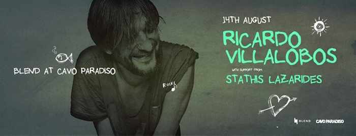 Ricardo Villalobos appearing at Cavo Paradiso Mykonos August 14 2015