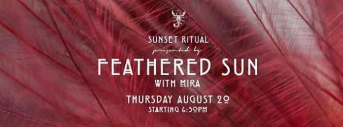 Scorpios Feathered Sun Ritual with Mira
