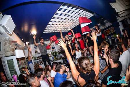 Semeli Bar Mykonos  photo from its Facebook page