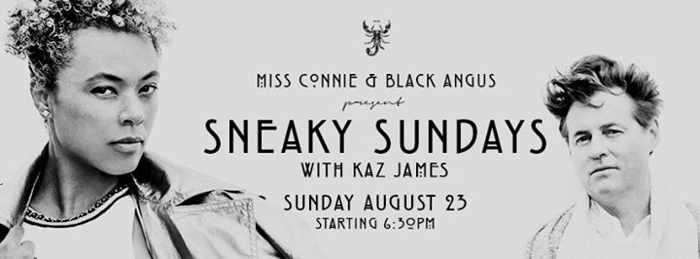 Sneaky Sundays with Kaz James at Scorpios Mykonos