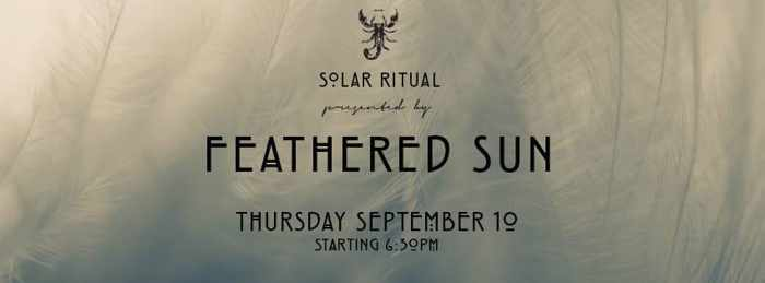 Solar Ritual by Feathered Sun at Scorpios Mykonos September 10 2015