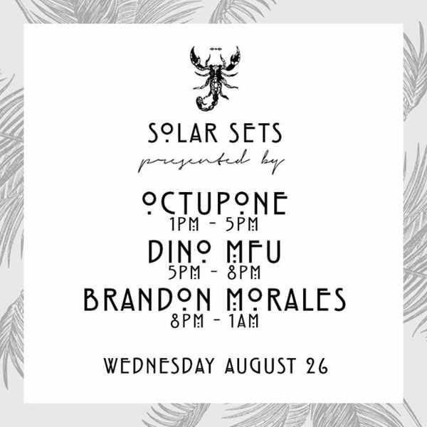 Solar Sets at Scorpios Mykonos August 26 2015