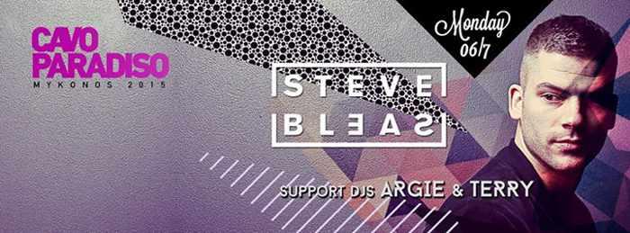 Steve Bleas at Cavo Paradiso Mykonos