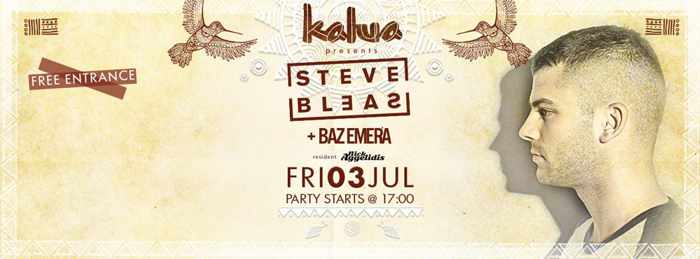 Steven Bleas appearing at Kalua bar Mykonos July 3 2015