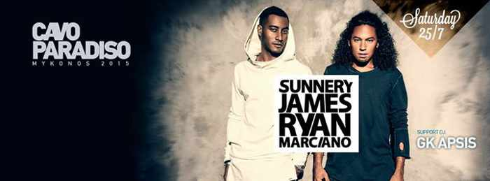 Sunnery James and Ryan Marciano at CAvo Paradiso