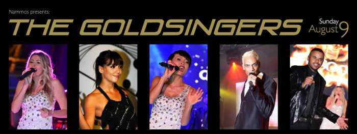 The Goldsingers at Nammos Mykonos August 9 2015