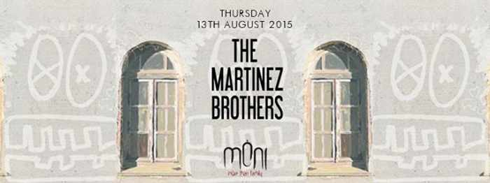 The Martinez Brothers at Moni nightclub Mykonos