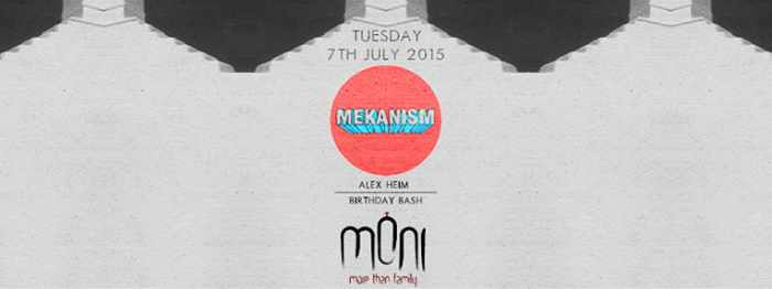 The Mekanism at Moni nightclub Mykonos July 7 2015