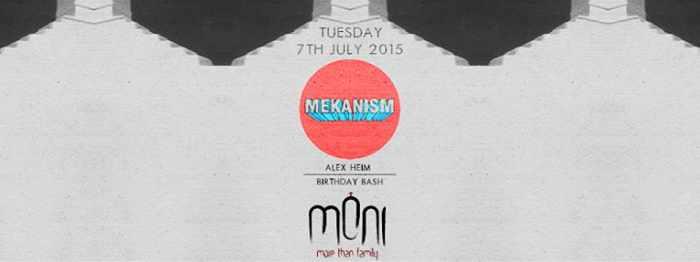 The Mekanism at Moni nightclub Mykonos July 7 2015