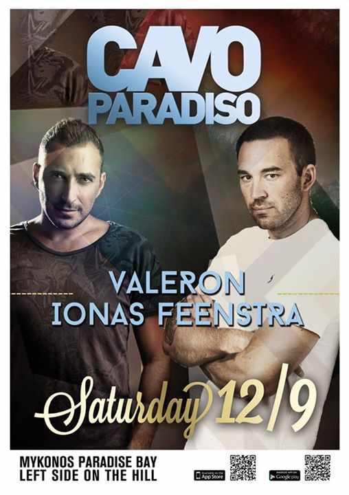 Valeron and Ionas Feenstra at Cavo Paradiso