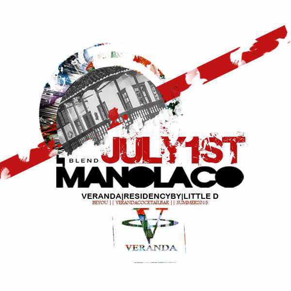 Veranda Bar Mykonos July 1 2015 party with DJ Manolaco