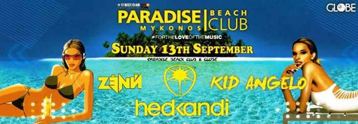 Zenn and Kid Angelo at Paradise beach club