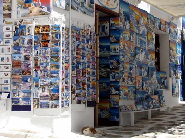 Archetype souvenir shop Mykonos