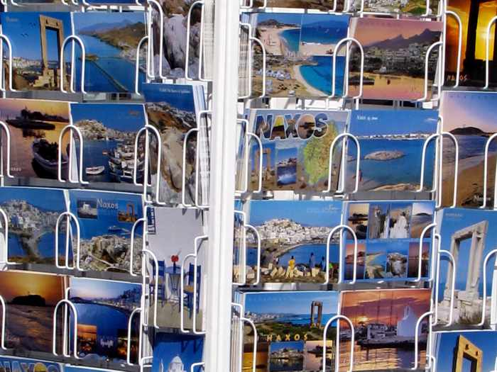 Naxos postcards