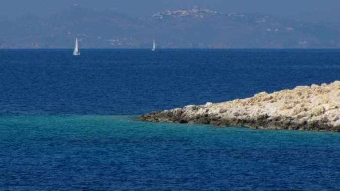 view toward Patmos