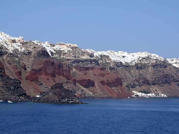 Agios Nikolaos islet below Oia