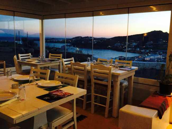 Anixi bistro at Ornos Mykonos photo from Facebook