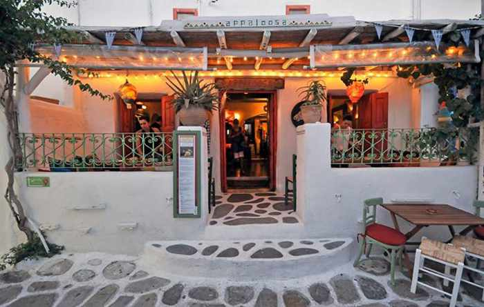Appaloosa restaurant Mykonos