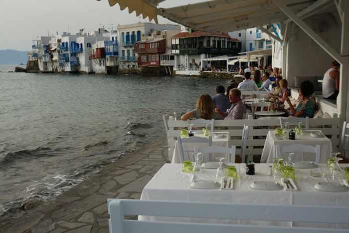 Aqua Taverna Mykonos photo shared on Facebook by Nikki Ng