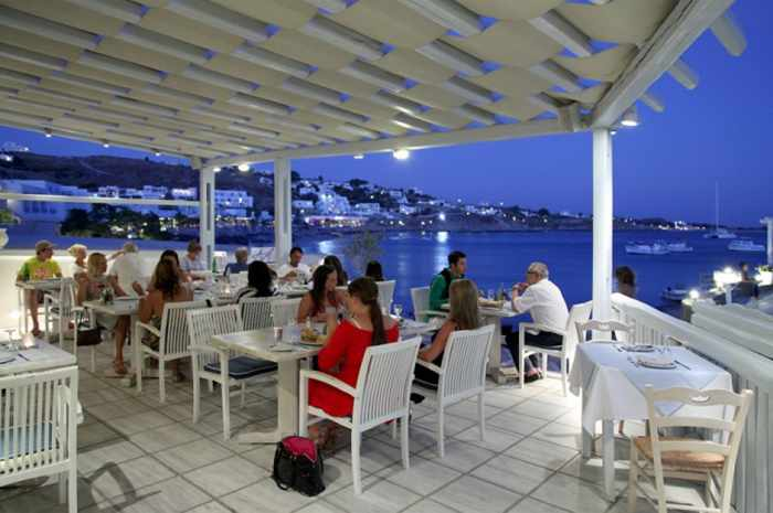 Blue Myth restaurant at Petinos Hotel Mykonos image 24_19 from the hotel website