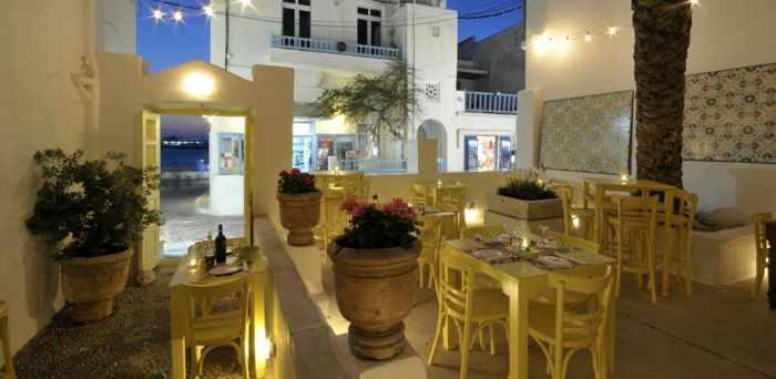Catari restaurant on Mykonos