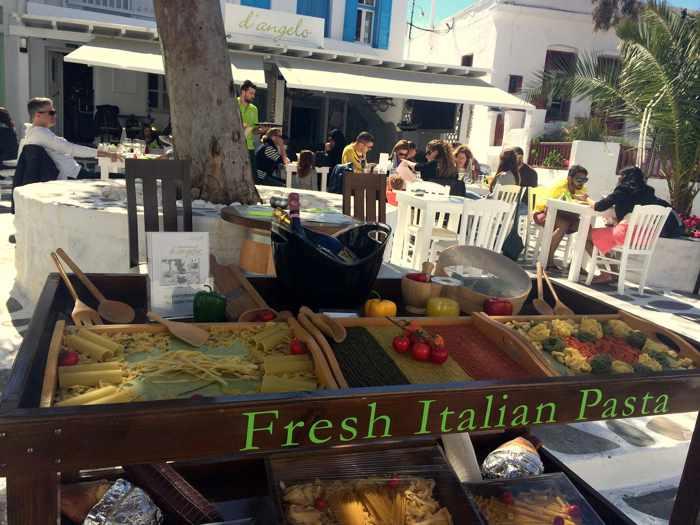 D'Angelo ristorante Mykonos