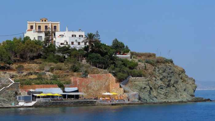 Asteria Beach Bar at Ermoupolis Syros