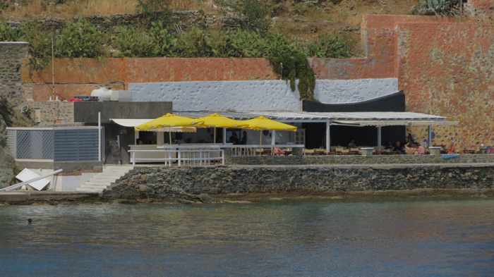 Asteria Beach Bar on Syros