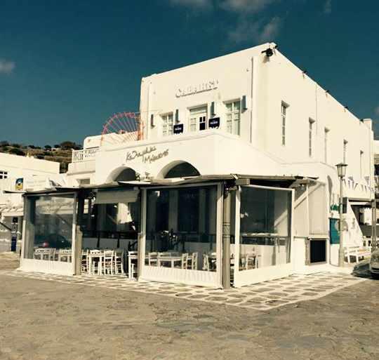 Kalamaki Mykonos restaurant in Mykonos Town photo shared on Facebook