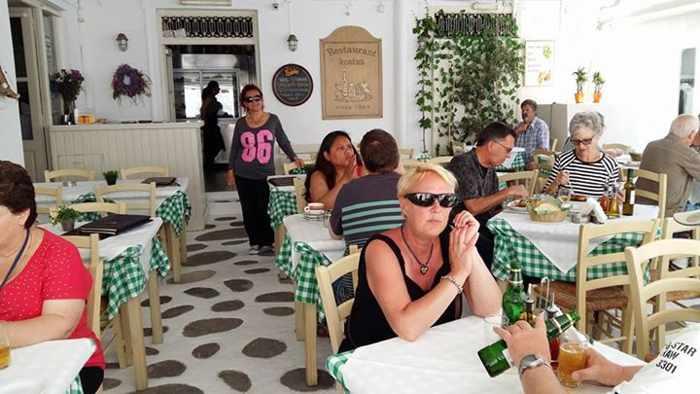 Kostas restaurant Mykonos Facebook photo
