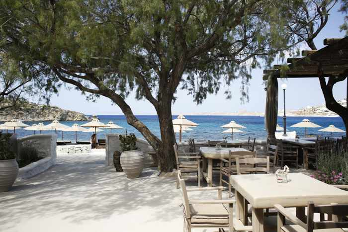 LaMed Seaside Pleasure wedding and event venue Mykonos website image