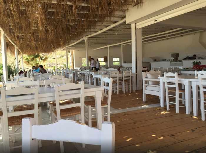 Liasti restaurant Lia Beach Mykonos photo shared by TripAdvisor member slurpeee76