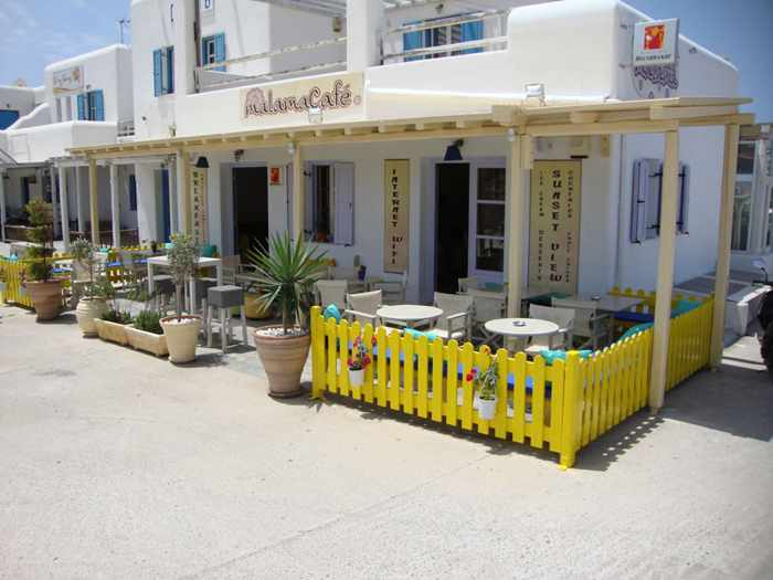 Malama Cafe Mykonos photo from the restaurant website