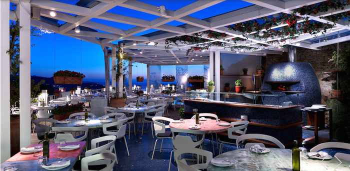 Marechiaro Mykonos photo from the restaurant's Facebook page