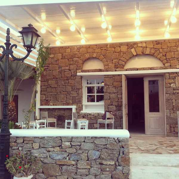 Ntekoto cafe wine bar & Deli at Ano Mera Mykonos photo from its Facebook page