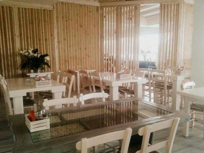 Paprika Grill Mykonos restaurant interior photo from Facebook