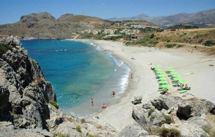 Plakias-Beach on Crete