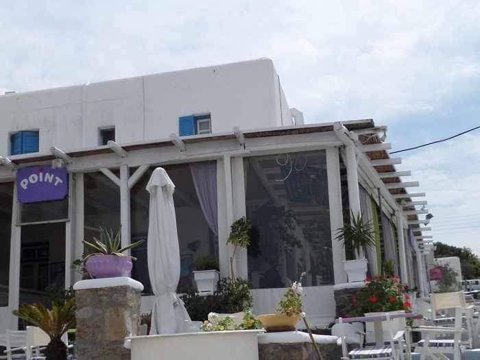 Point Bar Cafe Mykonos