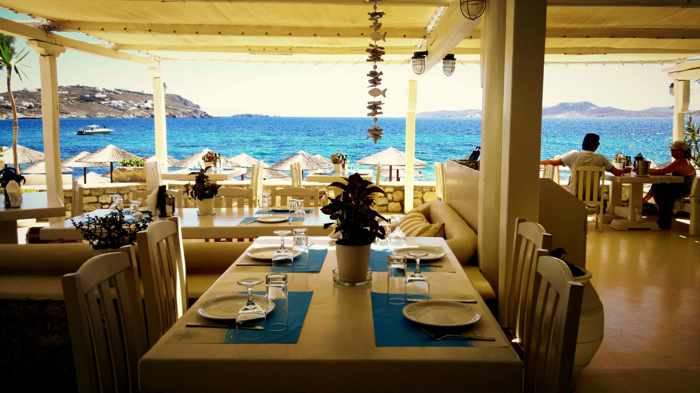 Pyli Restaurant at Agios Ioannis Mykonos photo from its Facebook page