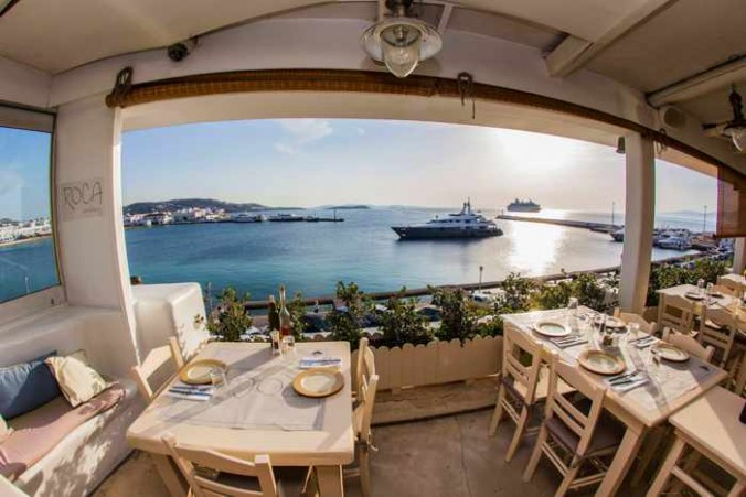Roca Cookery Mykonos photo from the restaurant's Facebook page