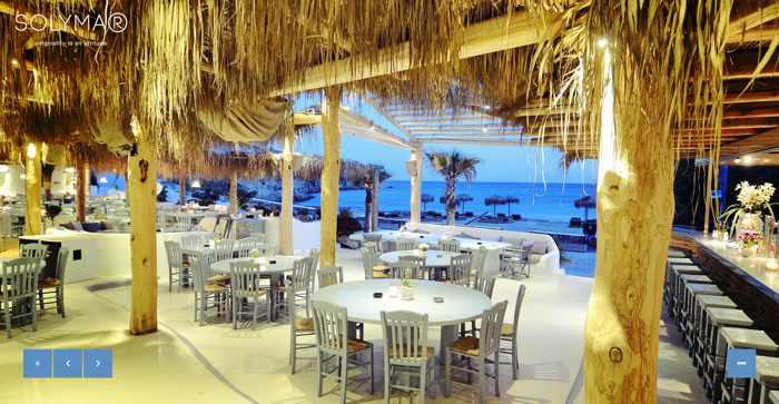 Solymar restaurant and beach bar