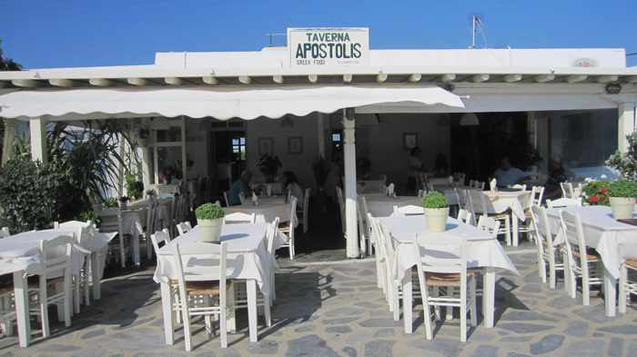 Taverna Apostolis seen in a photo from the restaurant's Facebook page