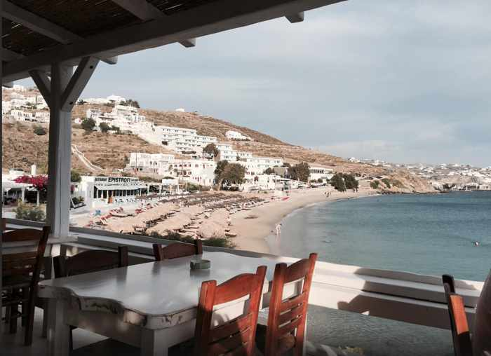 Taverna Petran Mykonos photo by TripAdvisor member Mercedes P