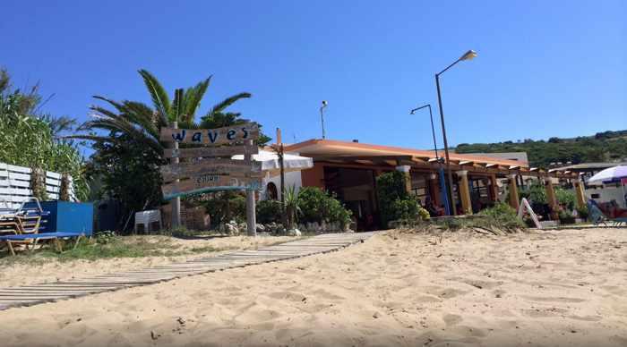 The Waves restaurant Agios Stefanos photo shared by TripAdvisor member Fu55yeater