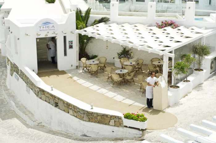 Thea restaurant at the Petinos beach hotel image 57_21 from the hotel website